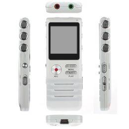 Digital Voice Recorder N98 Digital Audio Voice Recorder 1c Hohe Qualität Lange Aufnahme 8 Gb Stahl Stereo Rekord Mp3 Player Recorder Stift Wiederaufladbare