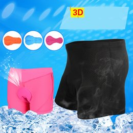Wholesale Sport Underpants - Men Women Cycling Shorts 3D Padded Gel Breathable Ciclismo Fitness Sports Underwear Bicycle Bike Shorts Cycling MTB Short Underpants