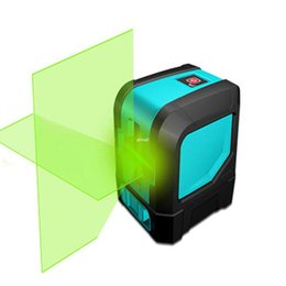 Wholesale Laser Line Green - Freeshipping Green 2 Point Laser Professional Horizontal and Vertical for Laser Level Self-Leveling Cross-Line Laser