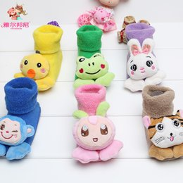 Wholesale China Baby Girl Clothes - Baby Kids Clothing Childrens Socks Winter warmer girls Boy christmas animal ankle sports socks Cotton 85% China stockings 0-12Mos #YB-13-55