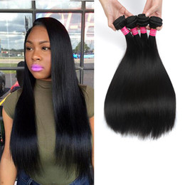 Wholesale Remy Hair Sold Bundles - Best Selling Peruvian Straight Hair Weft 7A Grade Peruvian Virgin Straight Human Hair Weave Bundles Cheap Remy Hair Beauty Products