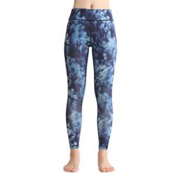 Wholesale Black Magnolia - girls full length magnolia Floral printed yoga pants navy high waist dance sport athletic leggings cute gym tights GL-061
