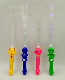 giocattoli caldi canne Sconti Hot spike counter fiber rods foresta flash bastone elettronico acclamazione dei capelli / bastoncini leggeri Giocattoli Flash