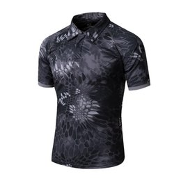 Wholesale Men s Tactical Gear Military Airsoft Special Ops Combat Shirt Camouflage Light Weight Quick Dry Short Sleeve Shirt
