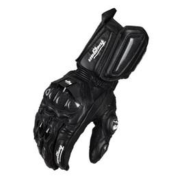 настоящие кожаные перчатки Скидка Оптовая продажа-мотоцикл перчатки GP PRO натуральная кожа перчатки углеродного волокна мужчины гоночный мотоцикл Motocicleta guantes moto Guantes Luvas