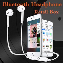 Wholesale Cheapest Universal Bluetooth Headset - Cheapest Bluetooth 4.1 Wireless Earphone High Quality Stereo Sound Headset Sport Runnning Earphones Hand Free for Samsung S7 S8 iphone i7 i8