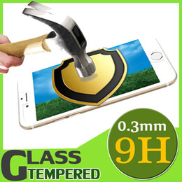 Wholesale Explosion Proof Glass Protector - 9H Premium Explosion Proof Tempered Glass Screen Protector Anti Scratch Film For iPhone 7 6 6S Plus 5 5S Samsung S8 Plus S7 Edge Note 5