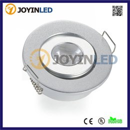 Wholesale Mini Spots Lighting - Wholesale- Mini round 1X3W 3W high power led ceilling light AC85-265 220lm home led downlights led Spot lamps Free Shipping