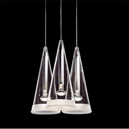 Wholesale Halogen Head Lights - Modern Flos Fucsia pendant lamp suspension lighting chandelier light 3 6 8 12 heads Chandelier Ceiling Light designed by Achille Castiglioni