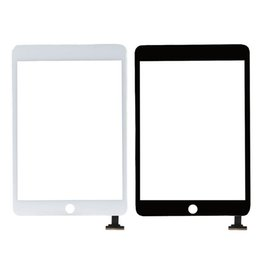 Wholesale Tablet Pc Screen Repairs - For iPad Mini 3 Tablet PC Front Touch Screen Digitizer Glass Mirror Lens Panels Replacement Repair Part