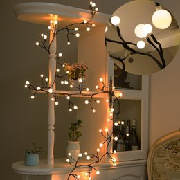 Wholesale Icing Light Bulb - 8.2ft 72 Bulbs LED Globe String Lights Waterproof Fairy Starry Light LED Decorative Lights for Bedroom Patio Garden Wedding Party Christmas