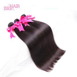 Wholesale Affordable Hair - Brazilian Virgin Hair Straight 4 Bundles Affordable Brazilian Peruvian Malaysian Indian Hair Bundles 8A Grade Virgin Unprocessed Human Hair