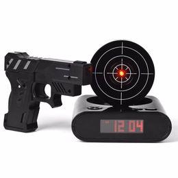 Wholesale Shot Target - Gun Alarm Clock   Shoot Alarm Clock   Gun O'Clock   Lock N Load Target Alarm Clock office gadgets