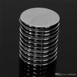 Wholesale Super Magnets N52 - 10Pcs 30mm x 3mm Disc Super Strong Round Magnets Rare Earth Neo Neodymium N52 Circular magnet Permanent magnet
