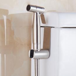 Wholesale Handheld Shattaf Bidet Sprayer - Free shipping Premium Stainless Steel Handheld Bidet Shattaf Sprayer Transform Toilet into Spray Bidet