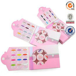 Wholesale ABC CANNI colors set Youth Elegent Natural Series UV LED Gel System Soak Off Profession Gel Paint Kit