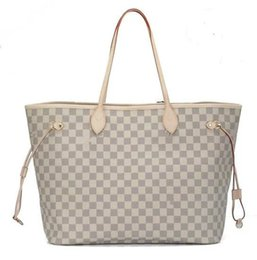 Wholesale Fiber Shops - Brand new quality women shoulder bags Large tote shopping handbag tote satchel Retro purse3 color Size pick