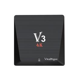 Wholesale V3 Black - 2GB RAM RK3229 V3 4K Ultimate HD Android 6.0 tv box Quad Core Streaming Media Player 16.1 17.3 Jarvis Krypton