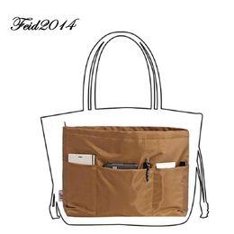 Wholesale Purse Inserts - Best Purse Organizer for Neverfull MM Bag; Coffee Purse Organizer Insert ; Large Tote Bag Organizer Insert