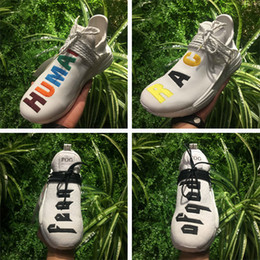 Wholesale Pw Black - Wailly PW NMD Human Race Pharrell Williams Shoes Sneakers Discount for sale,NMDs release Fear of God,Friends and Family,Shark Apes,Yellow
