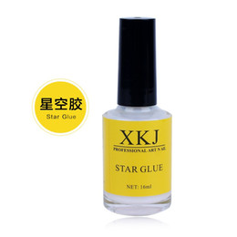 Wholesale Gel Transfer - Wholesale-Hot 16ml Pro Nail Art Glue for Foil Sticker Nail Transfer Tips Adhesive Glue