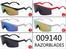 Wholesale Styling Razor - Razor Blades Sunglasses Heritage Special Edition retro style NEW Cycling Eyewear men women sunglasses