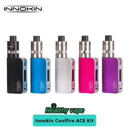 Wholesale Ace Battery - Original Innokin Coolfire ACE 40W Kit with SlipStream Atomizer with 1300mAh Built-in Battery CoolFire ACE MOD