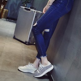Wholesale Solid Object - Womens Canvas Shoes Lace up Sneakers 2 Colors Available Women Canvas Slip on Shoes Sneakers. Women Object Flats-Shoes