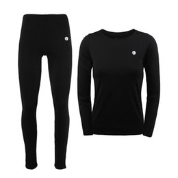 Wholesale Thermal Long Johns For Women - Wholesale- Women Winter Thermal Underwear Men Women Warm Long Johns Women Ski Jacket and Pants For Ski Hiking Snowboard Cycling