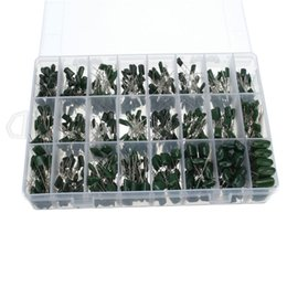 Wholesale Electrolytic Capacitor Box - Wholesale- 2017 High precision 100V 24value 660pcs Polyester Film capacitor assorted kit box assorstment Very convenient and practical