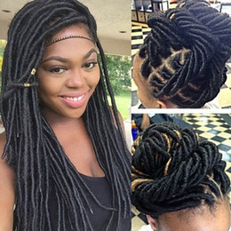 Wholesale kanekalon hair african - Synthetic Braiding Hair Extension African Protective Hairstyle Havana Twists Braids Hair Extensions Kanekalon Crochet Twist Braids