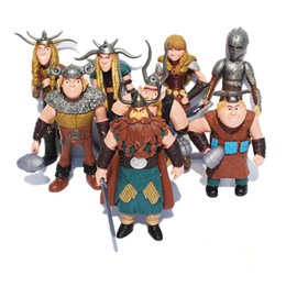 Wholesale Boy S Toys - 8pcs set How To Train Your Dragon Toys Night Fury Toothless How To Train Your Dragon Anime Figures Toys for Children Boys Gift