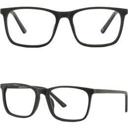 Wholesale Wood Black Eyeglasses Frames - Square Light Men's Women's Frame Plastic Glasses Eyeglasses Rectangle Acetate Black Wood Imitation
