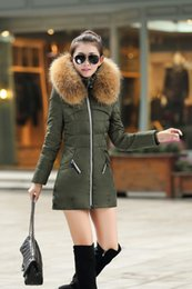 Wholesale Down Jackets For Ladies - Fur jacket women winter Thickening Jacket Womens Outwear Parkas for ladies Winter Outwear winter jacket 80% Duck down high quality