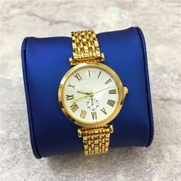 2019 мужские часы цены брендов Топ дизайн мужчины/женщины наручные часы золотой цвет Blet из нержавеющей стали леди браслет небольшой набор функций оптовая цена любовник часы марка L скидка мужские часы цены брендов