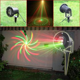 Wholesale Laser Real - hot Real certification SUNY Waterproof Garden Laser Lights 8 in1 Sky Star Outdoor Firefly Stage Lighting Landscape Light Green&Red Projector