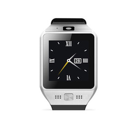 Wholesale Camera Sms - JV08S Bluetooth Smart Watches Fitness Intelligente Sport Wrist Watch With QQ SMS Camera Support SD SIM Card For Android IOS Phone