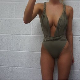 Wholesale Sexy One Piece Womens Swimwear - High Quality Sexy Tight Swimsuit FemaleBanded Beach Womens Swimwear for Summer HOT!
