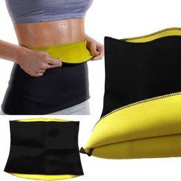 Wholesale Nylon Weight Loss Belt - Fitness Belts Shapewear Yoga Belt Self-heating Girls Lady Slimming Pants Body Shaper Slimming Weight Loss Waist Belts