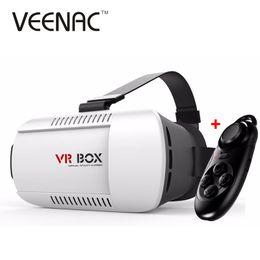 2019 lunettes bleues pas cher Vente en gros- VEENAC 2017 VR BOX I 2.0 VR Réalité Virtuelle 3D Lunettes Casque Google Cardboard Version Casque pour 4.0 - 5.5 pouces Smart Phone