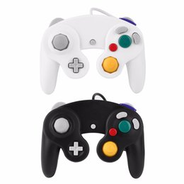 Wholesale Nintendo Wire - Original Wired Game Shock JoyPad Vibration for Nintendo or Wii GameCube or NGC Controller for Pad Promotion 30Pcs Free DHL
