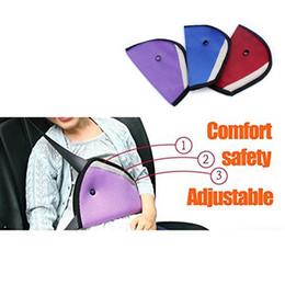 Wholesale Seat Belt Clip Children - Car Child Safety Cover Harness Strap Adjuster Pad Kids Mesh Seat Belt Clip