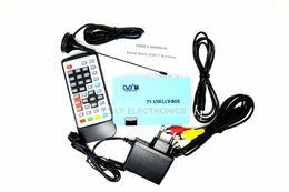 Wholesale Dvb Converter - EU Plug Digital TV Box LCD CRT VGA AV Tuner DVB-T Free View Receiver Converter