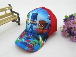 Wholesale Cartoon Snapbacks Wholesale - Boys and Girls cartoon cap Kids Baseball Cap adjustable 52~54cm Troll Moana Ball Cap Chirldren Ball Snapbacks Hat Best Gifts for boy&girls