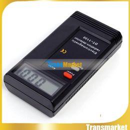 Wholesale electromagnetic radiation - CE Certificated Digital EMF Meter Dosimeter Tester, portable electromagnetic radiation detector