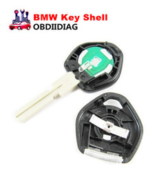 Wholesale Bmw E36 Remote Key - Replacement Shell Remote Key Case Fob Blank Key Uncut HU58 Blade With Light For BMW 3, 5, 7 Series E36 , E34, E32