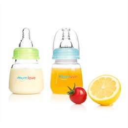 Wholesale Glass Bottles For Milk - Wholesale-Baby Bottle Feeding Bottle Feeder for Babies 0-18 Months 80 150 ML PP Nursing Care Mamadeiras Fruit Juice Milk Special Offer