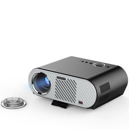 Wholesale Vga Android - GP90 GP90UP 1280x800 Smart Android Wifi Cinema USB Full HD Video WXGA LED HDMI VGA 1080P Home Theater Projector