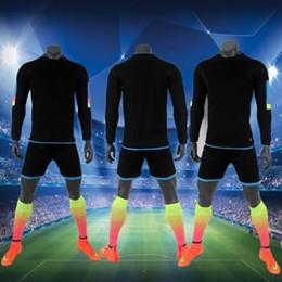 Wholesale Custom Wholesale Football Jerseys - sport kit blank running jersey for men can custom name number run uniform Soccer jerseys Football jerseys
