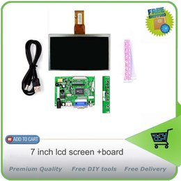 Wholesale Board For Lcd Panel - Wholesale-7 inch LCD Panel Digital LCD Screen and Drive Board(HDMI+VGA+2AV) for Raspberry PI   Pcduino   Cubieboard - (1024 x 600)